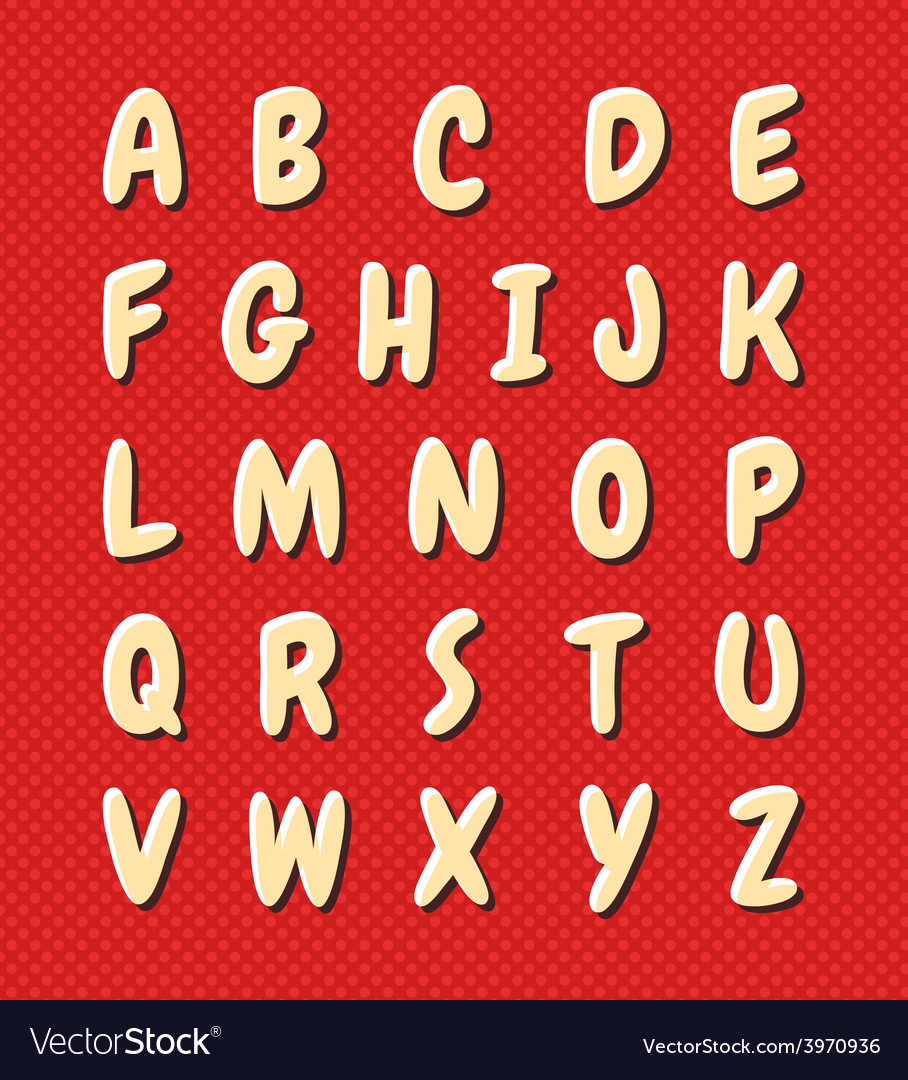 Kids alphabet vector | Price: 1 Credit (USD $1)