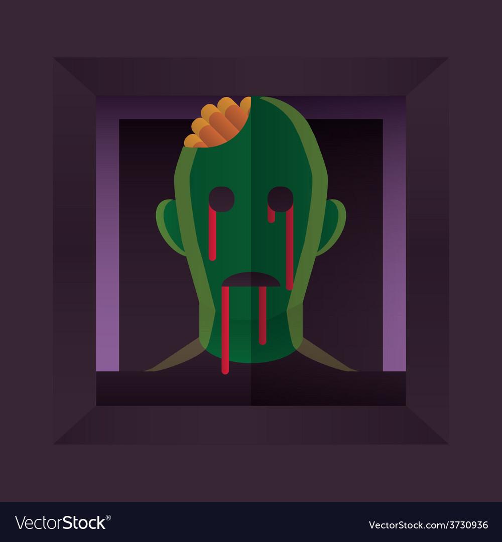 Zombie vector | Price: 1 Credit (USD $1)