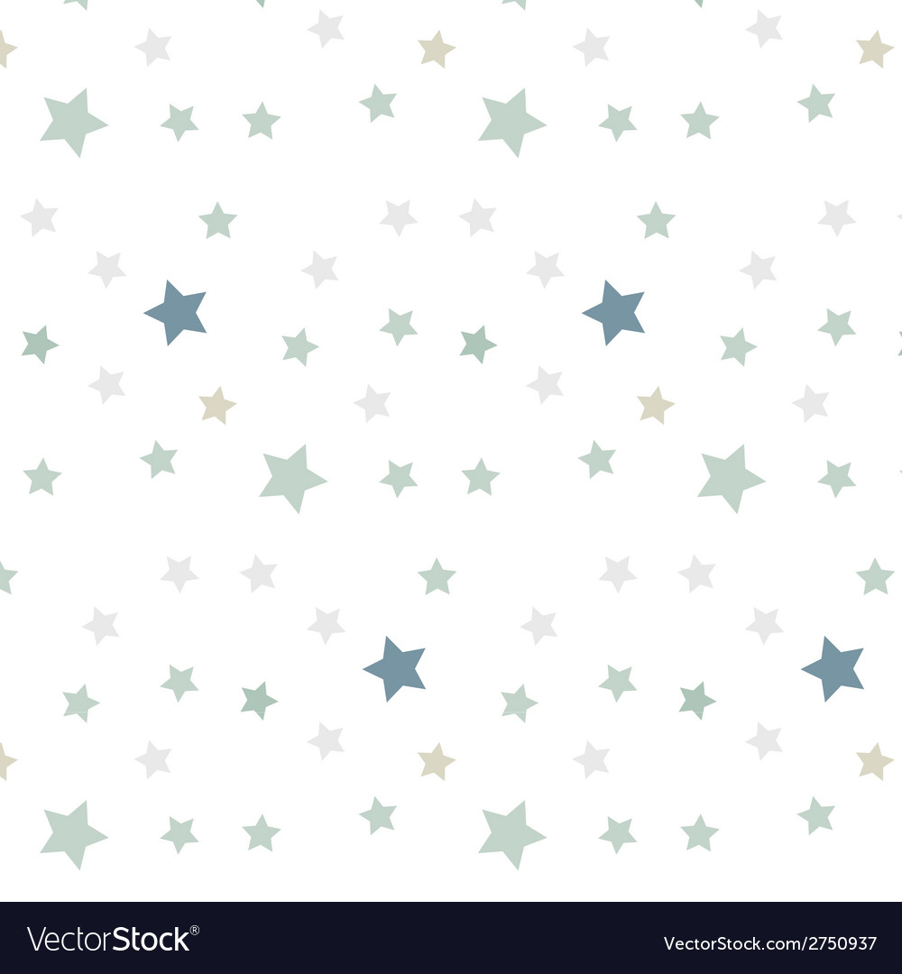 Stars seamless pattern vector | Price: 1 Credit (USD $1)