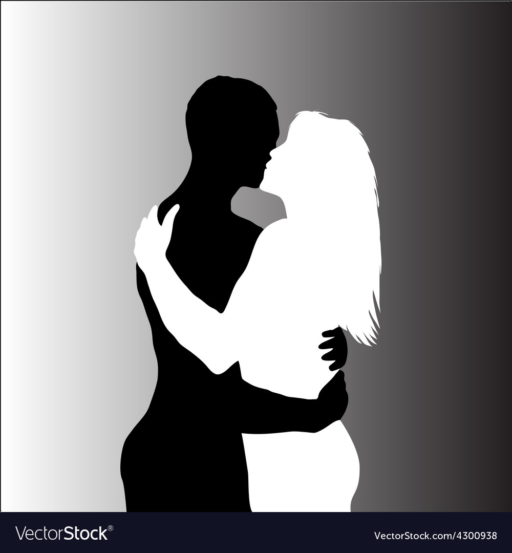 Love couple vector | Price: 1 Credit (USD $1)