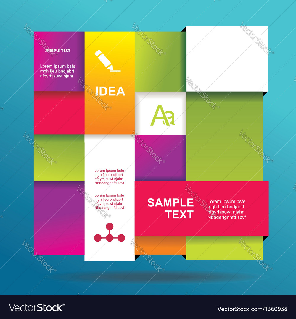 Modern design template vector | Price: 1 Credit (USD $1)
