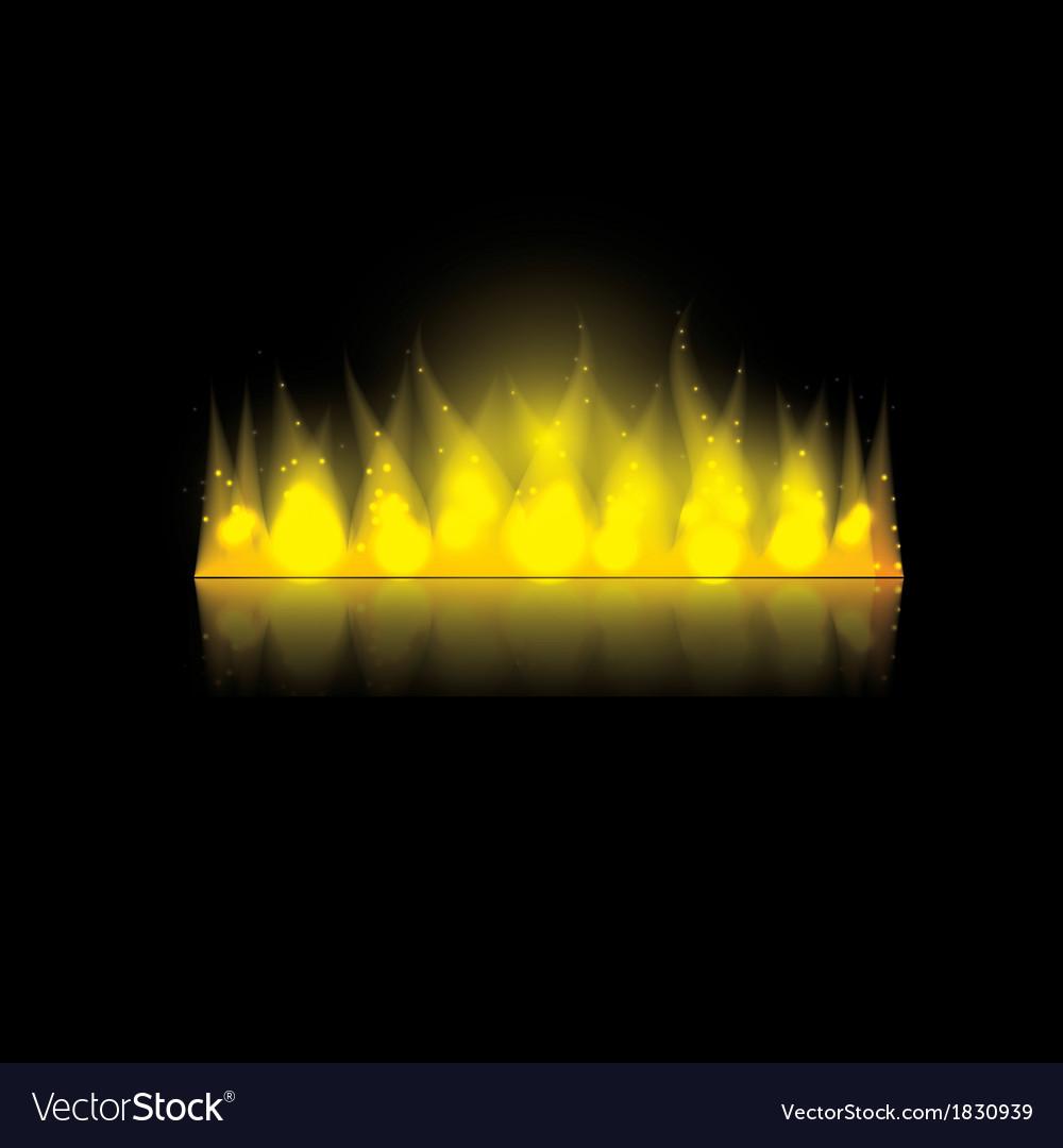 Fire in the dark vector   Price: 1 Credit (USD $1)