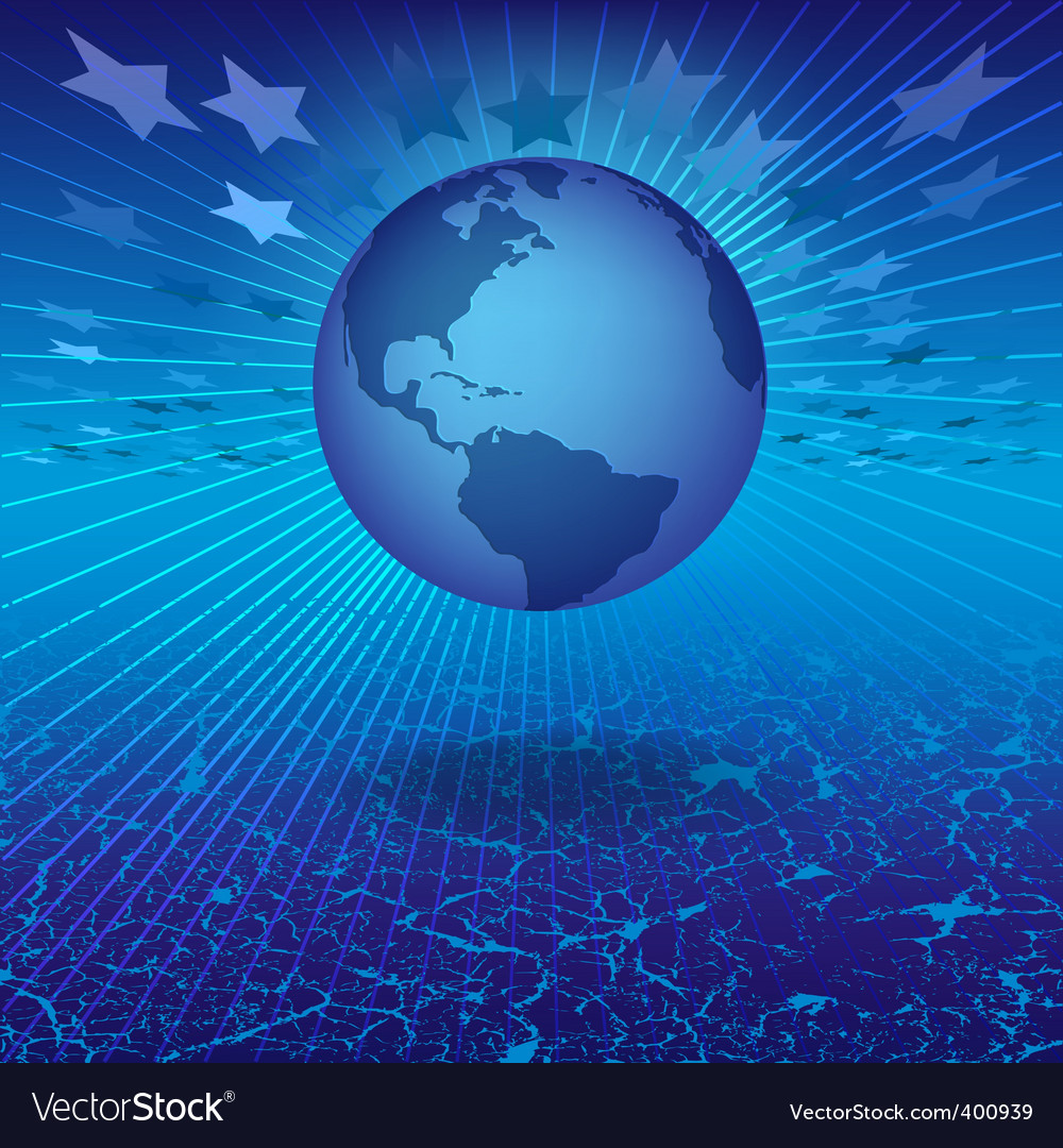 Floating world vector | Price: 1 Credit (USD $1)