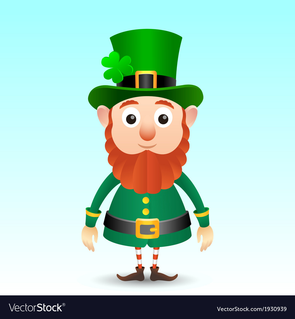 Leprechaun vector | Price: 1 Credit (USD $1)