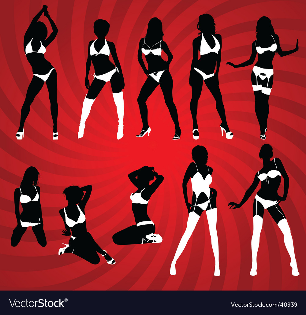 Sexy lingerie vector | Price: 1 Credit (USD $1)
