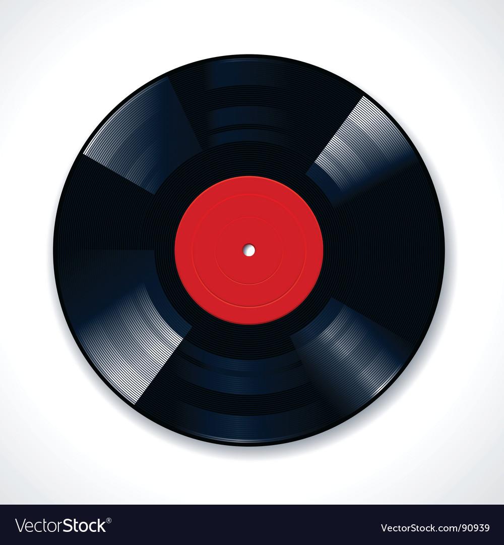 Vinyl disc vector | Price: 1 Credit (USD $1)