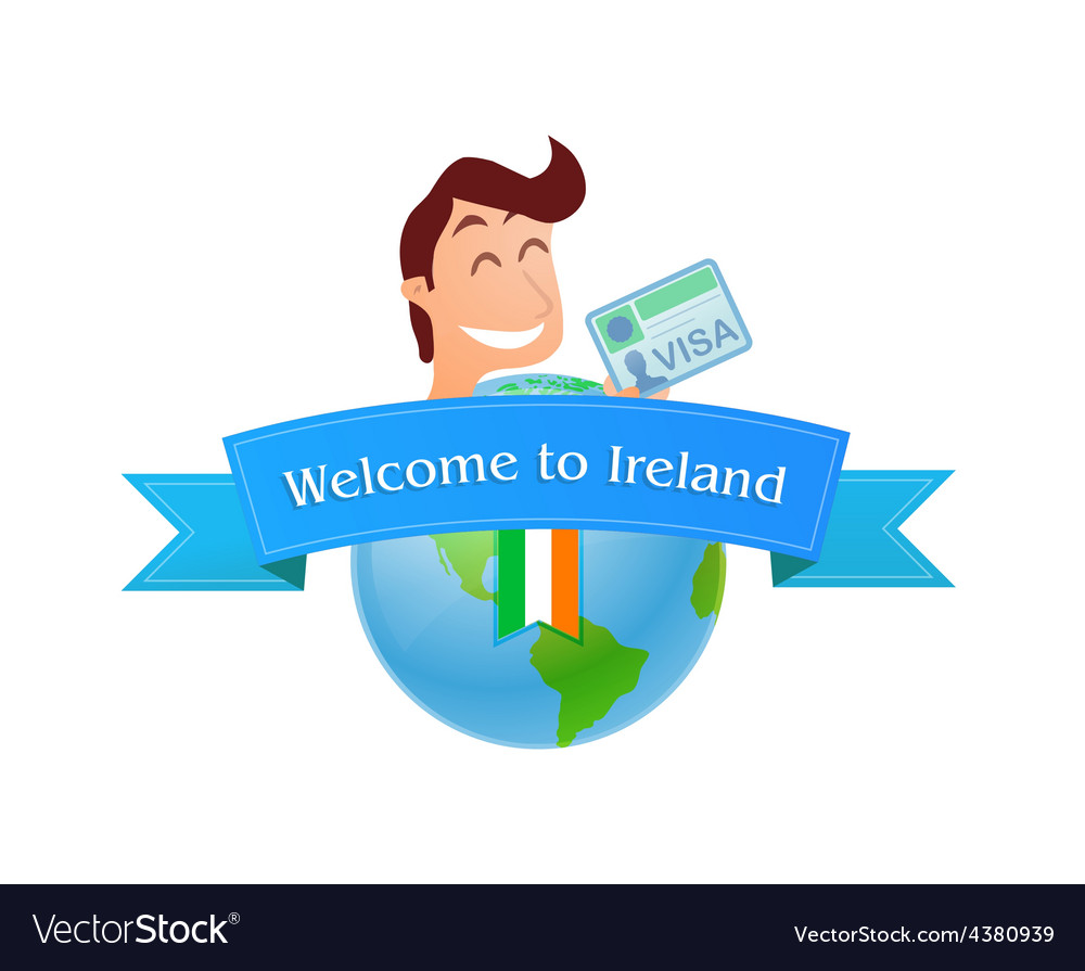 Welcome to ireland vector   Price: 1 Credit (USD $1)