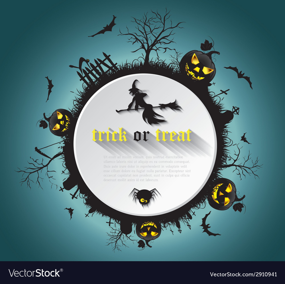 Abstract halloween background vector | Price: 1 Credit (USD $1)