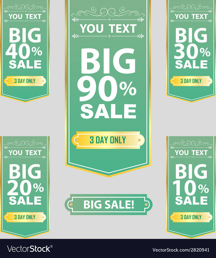 Big sale best offer badge sticker label or tag vector | Price: 1 Credit (USD $1)