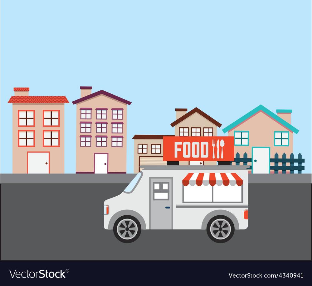 City concept vector | Price: 1 Credit (USD $1)