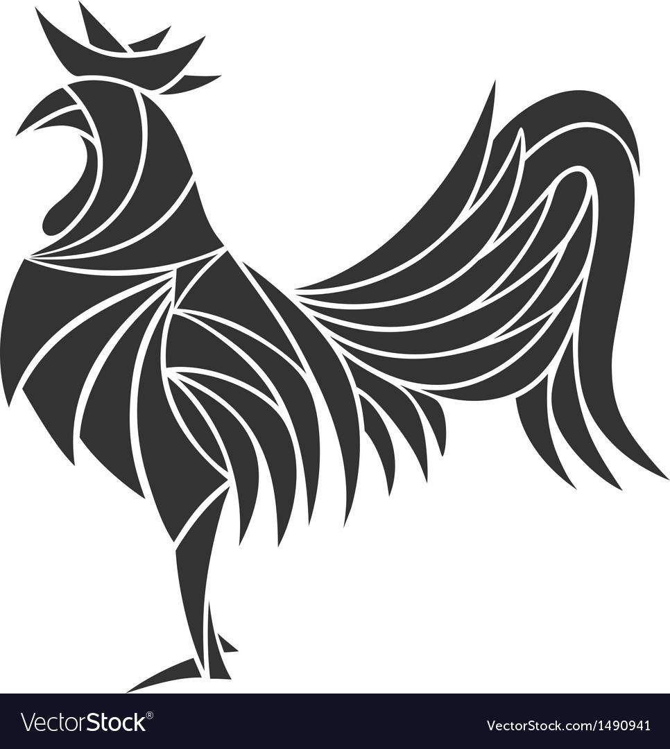 Cock vector | Price: 1 Credit (USD $1)