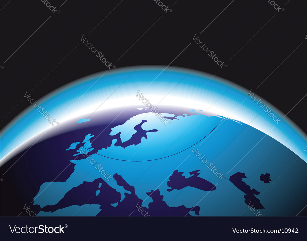 Beauty earth graphic vector | Price: 1 Credit (USD $1)
