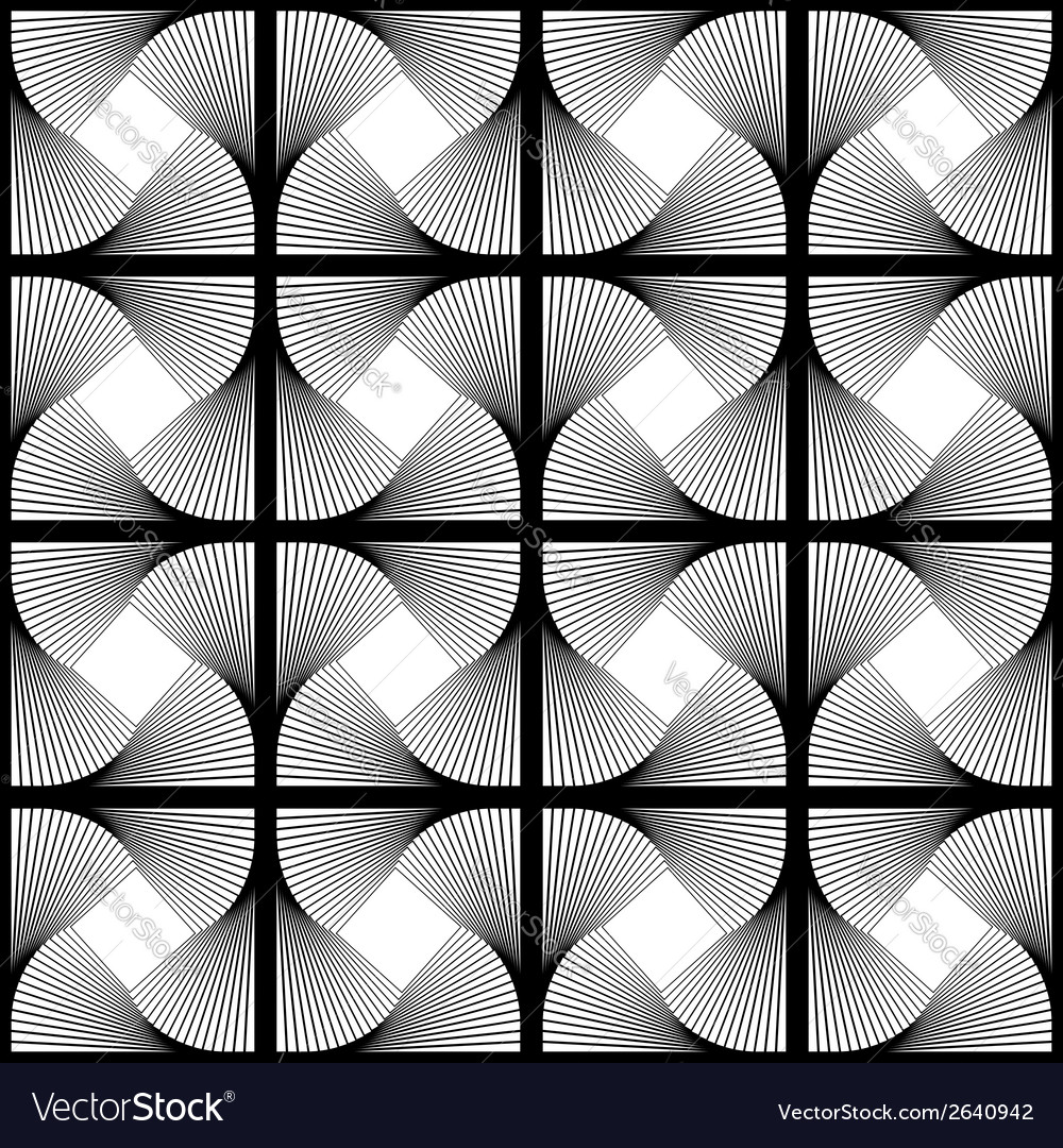 Design seamless swirl movement geometric pattern vector | Price: 1 Credit (USD $1)