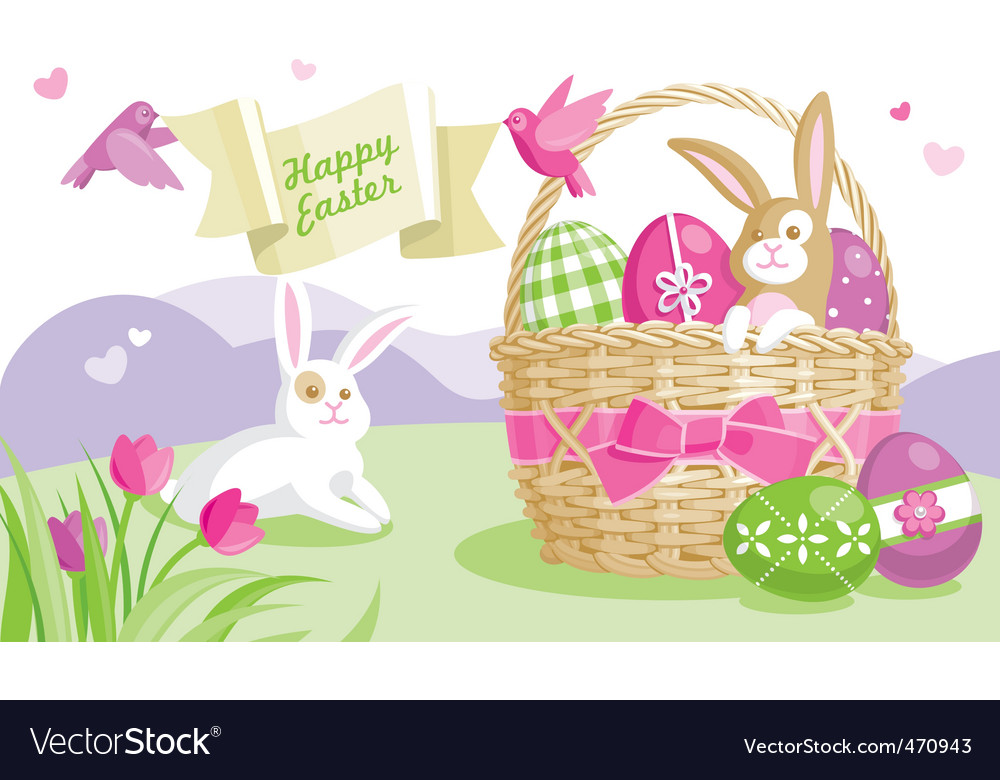 Easter illustration vector | Price: 3 Credit (USD $3)