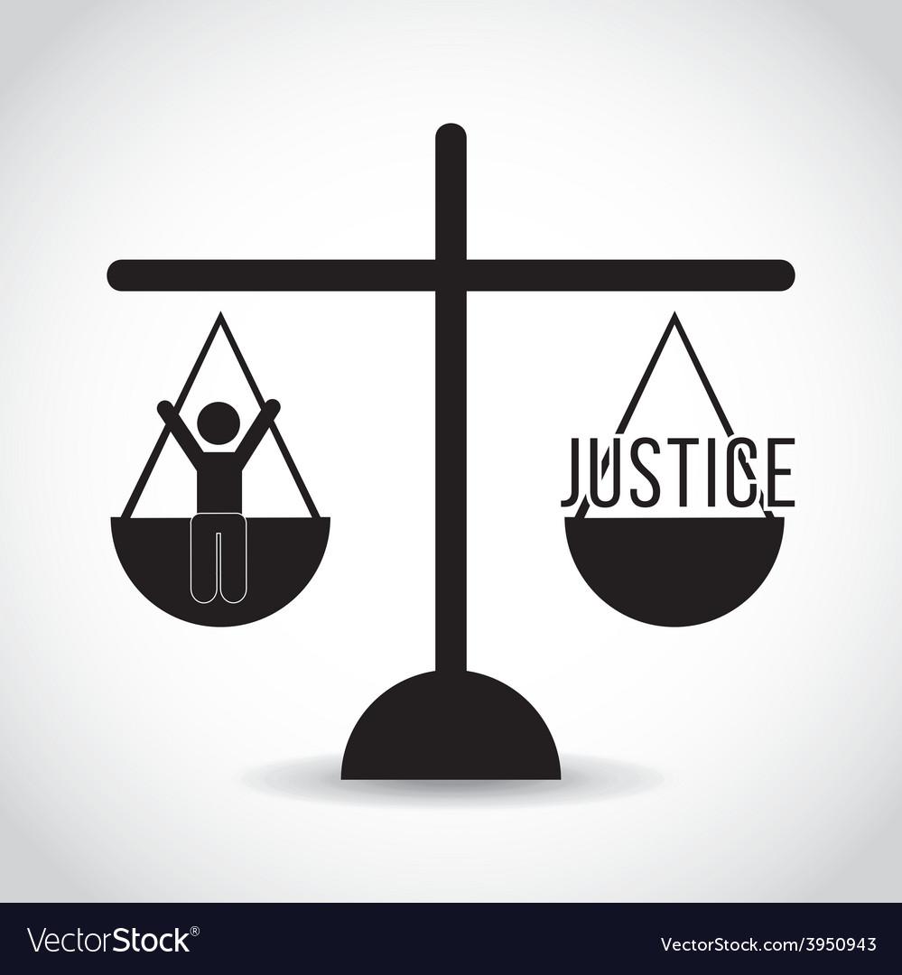 Justice concept vector | Price: 1 Credit (USD $1)