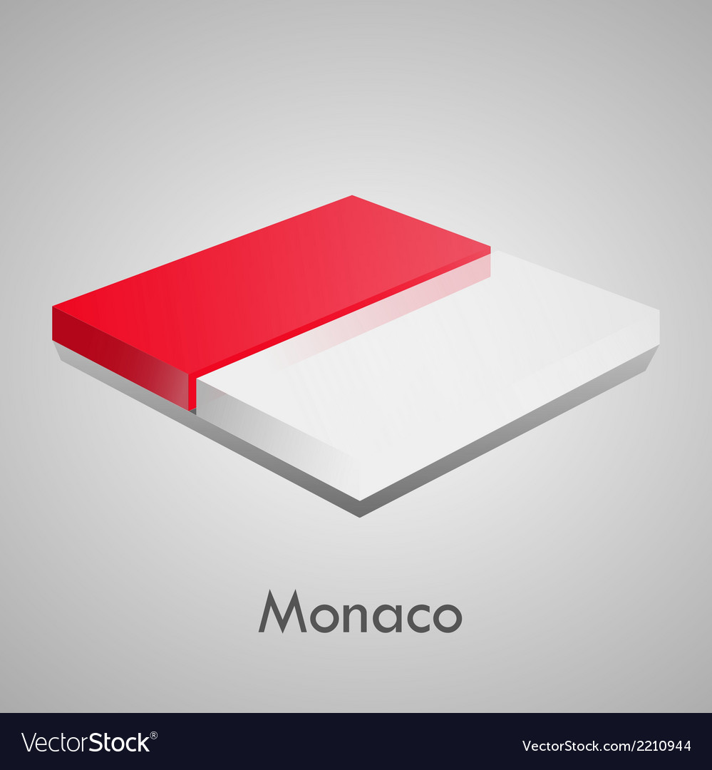 European flags set - monaco vector | Price: 1 Credit (USD $1)