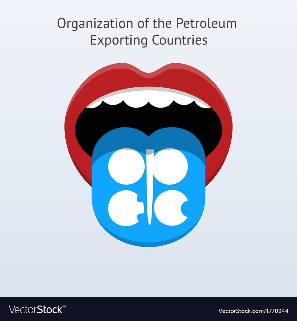 Organization of the petroleum exporting countries vector | Price: 1 Credit (USD $1)