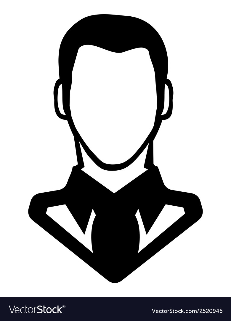 Businessman icon call centar3 vector | Price: 1 Credit (USD $1)