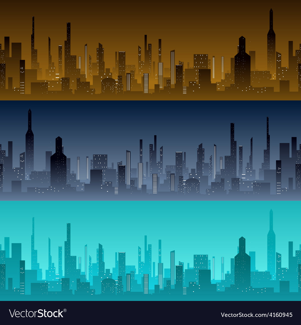 Cityscape backgrounds city in the morning vector | Price: 1 Credit (USD $1)