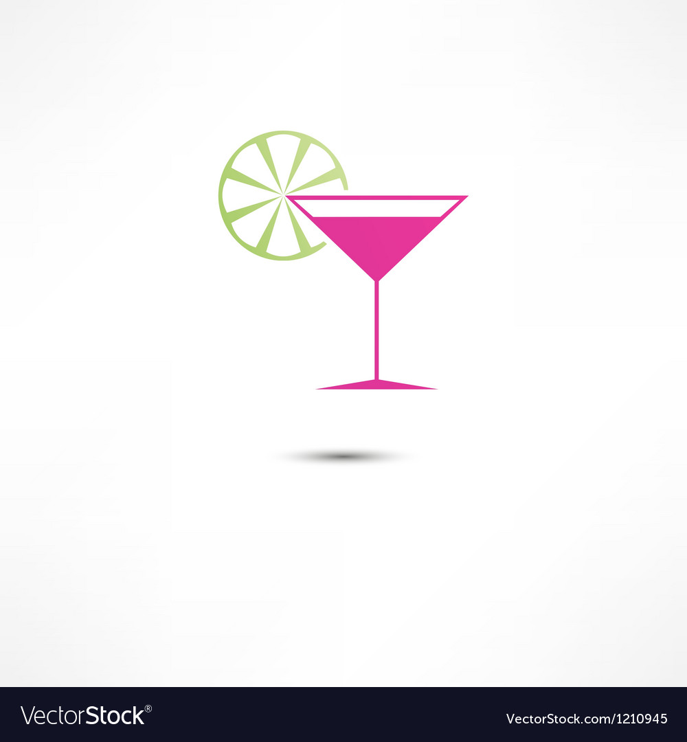 Cocktail icon vector | Price: 1 Credit (USD $1)