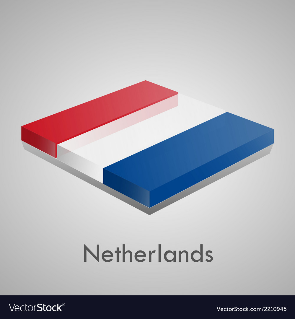 European flags set - netherlands vector | Price: 1 Credit (USD $1)