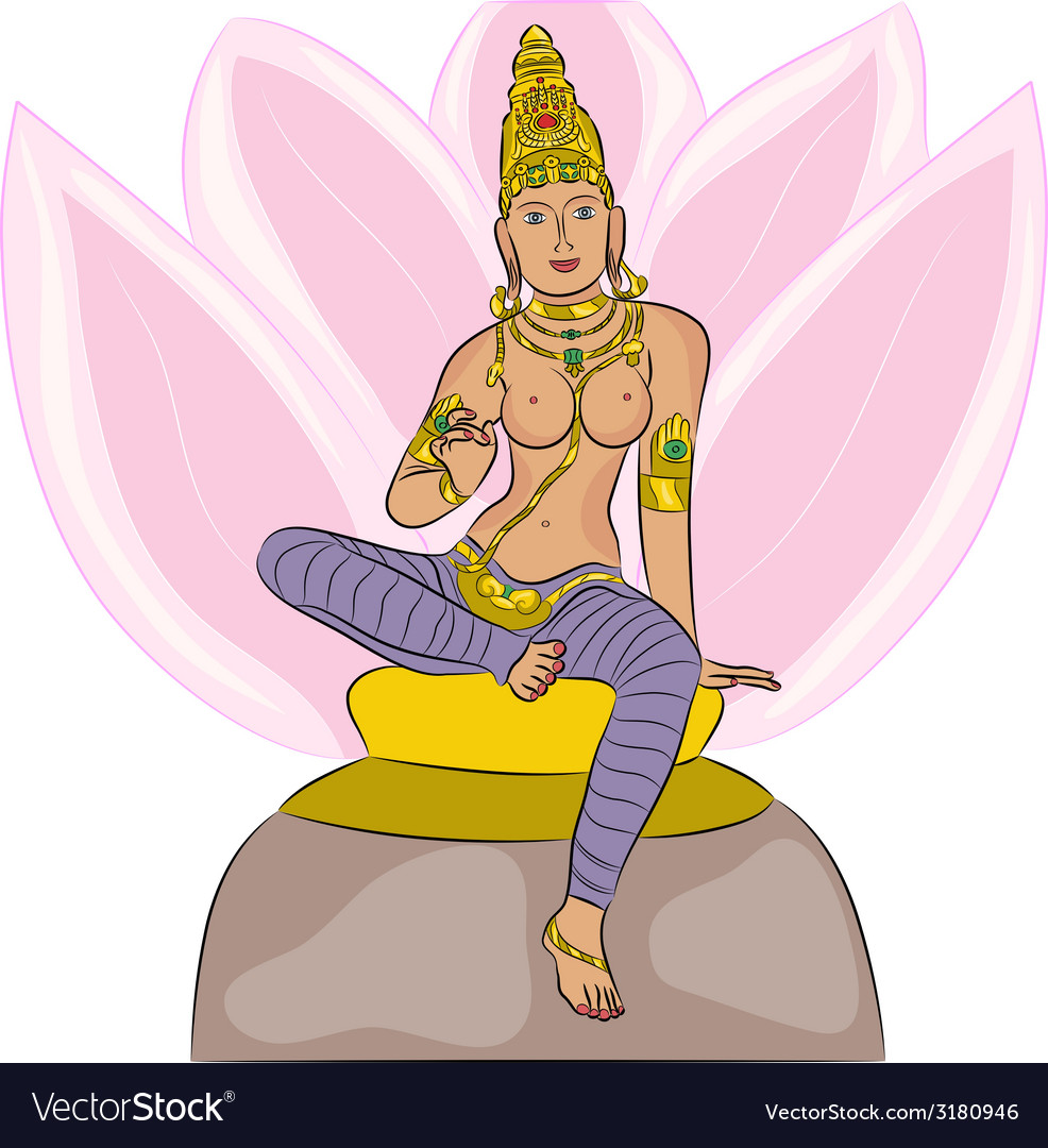 Goddess lakshmi vector | Price: 1 Credit (USD $1)