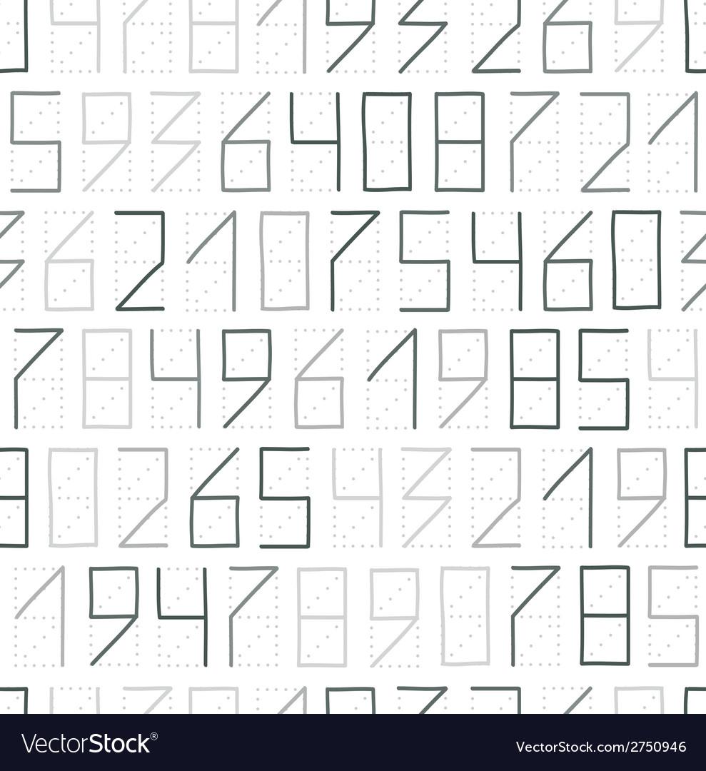 Zip code seamless vector | Price: 1 Credit (USD $1)