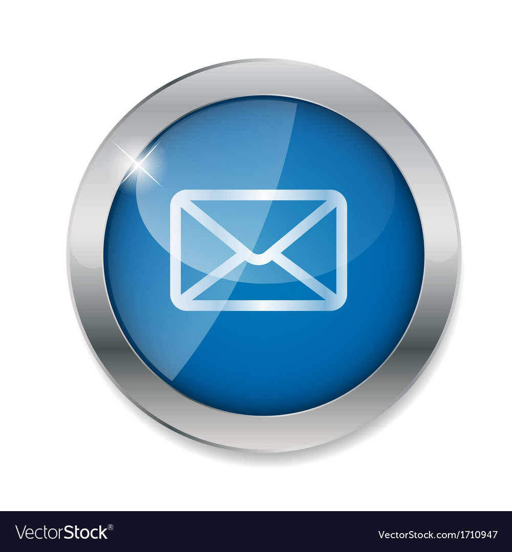 Mail button vector | Price: 1 Credit (USD $1)