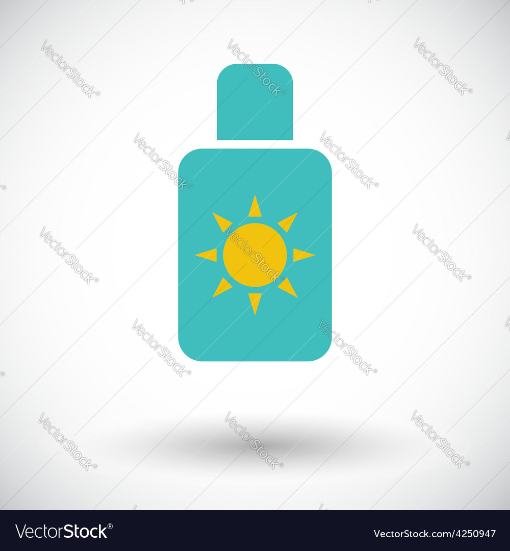 Sunscreen vector | Price: 1 Credit (USD $1)