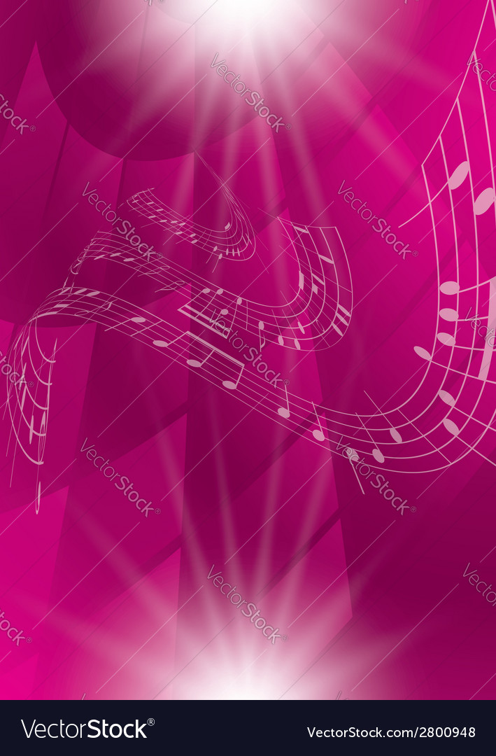 Abstract crimson music background vector | Price: 1 Credit (USD $1)