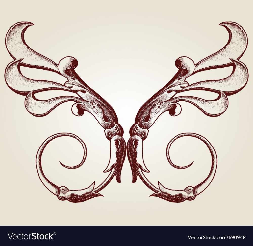 Design set with various shapes and decoration vector | Price: 1 Credit (USD $1)
