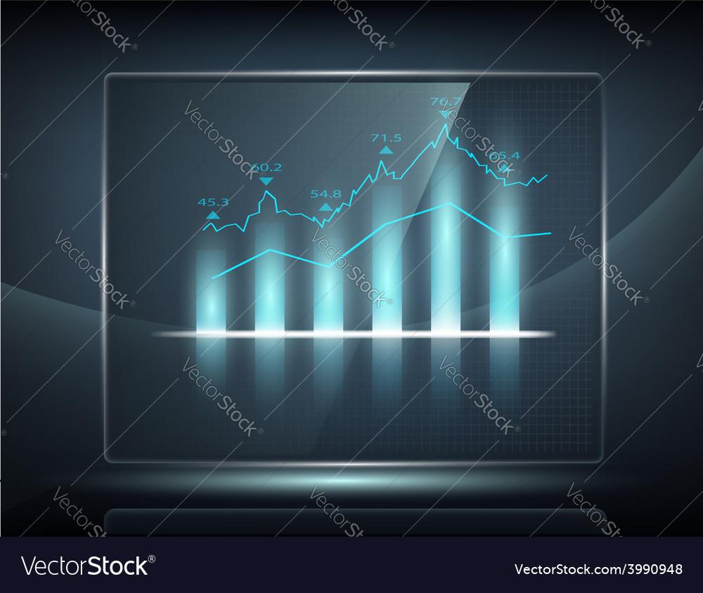 Graph vector | Price: 1 Credit (USD $1)