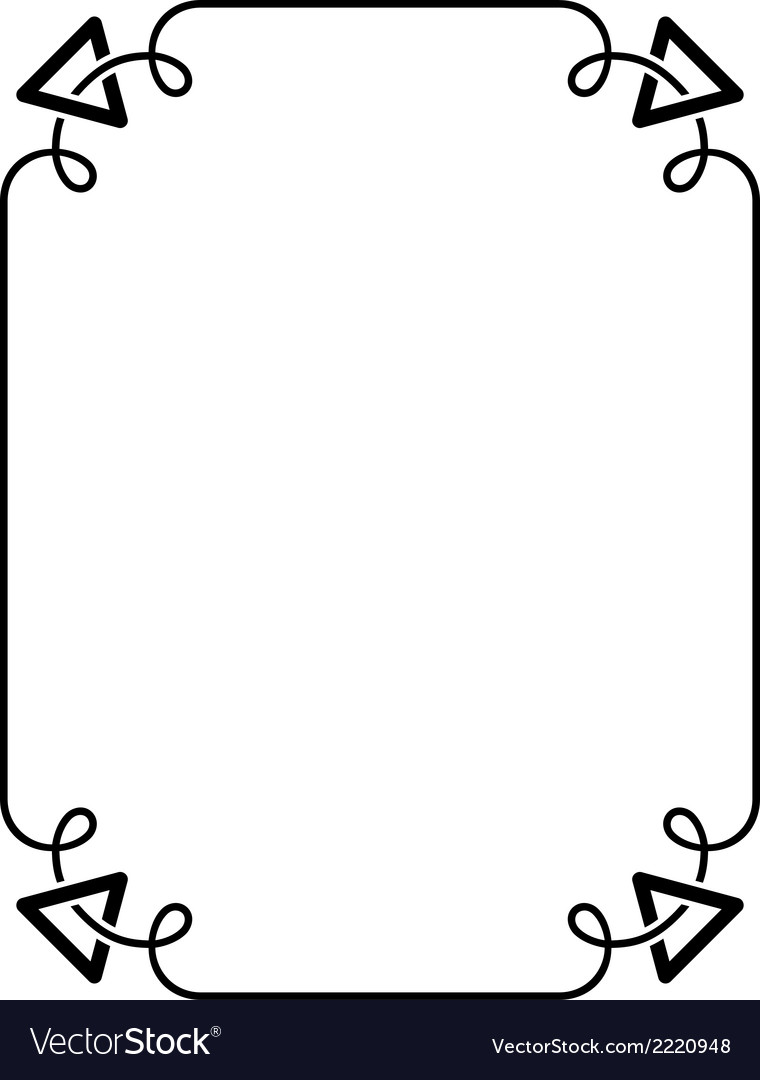 Simple frame vector | Price: 1 Credit (USD $1)