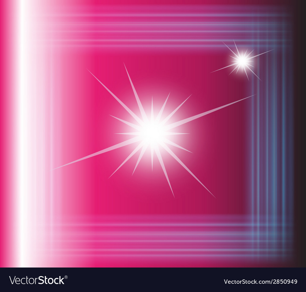Abstract pink background with square vector