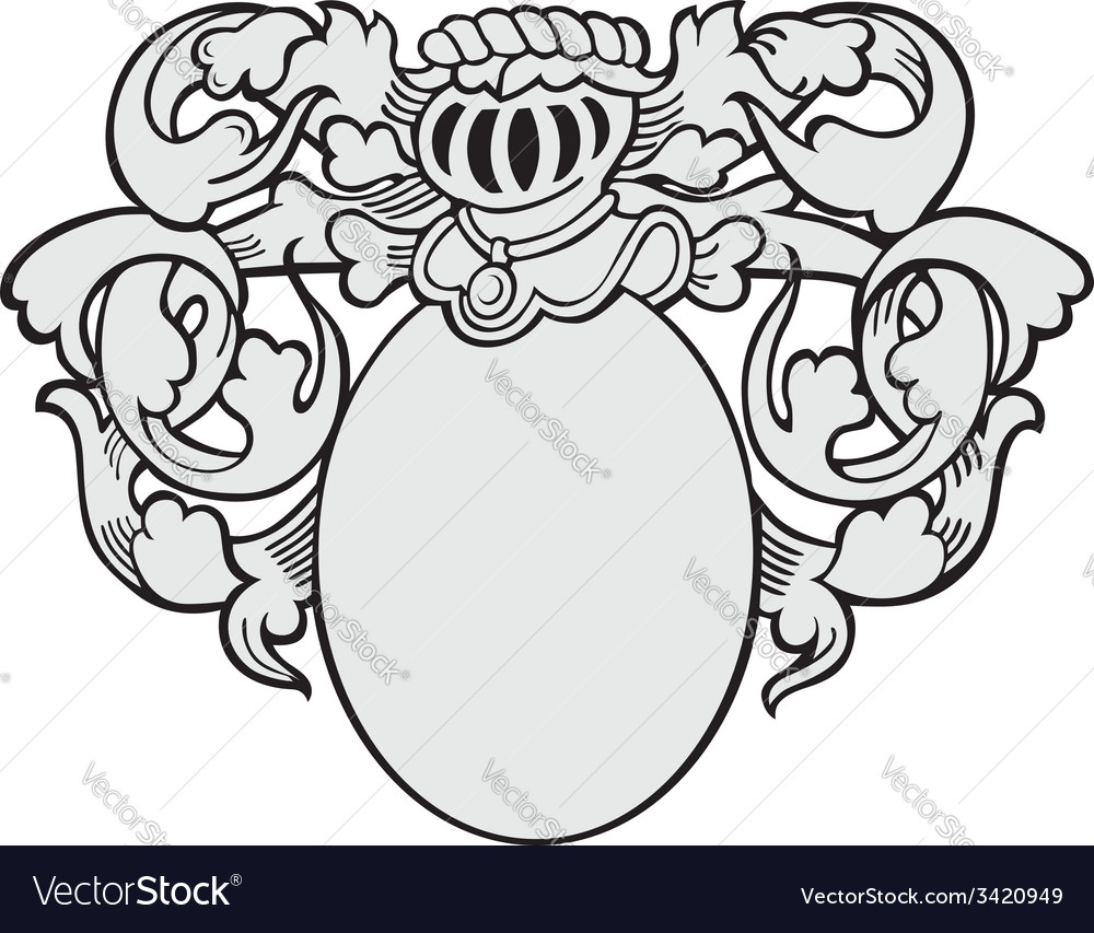 Aristocratic emblem no20 vector | Price: 1 Credit (USD $1)