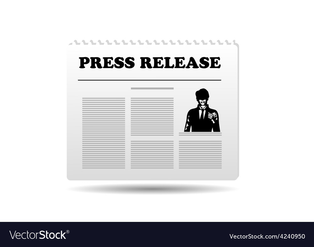 Press release vector | Price: 1 Credit (USD $1)