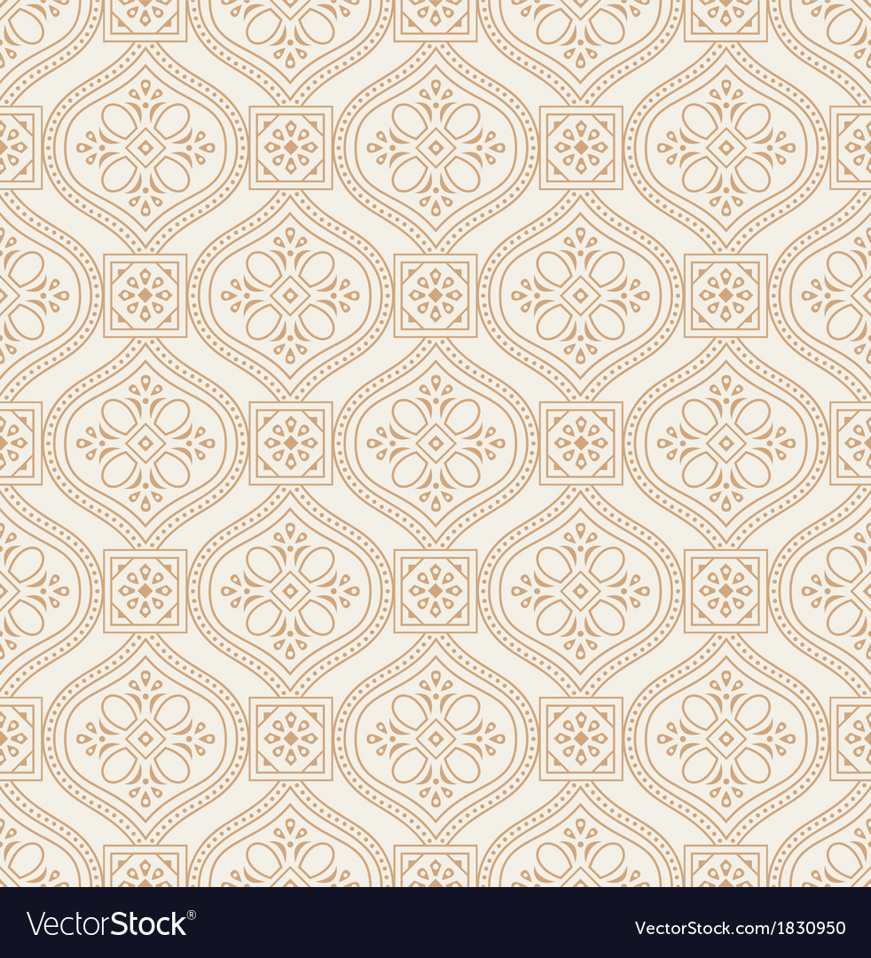 Royal seamless wallpaper vector | Price: 1 Credit (USD $1)
