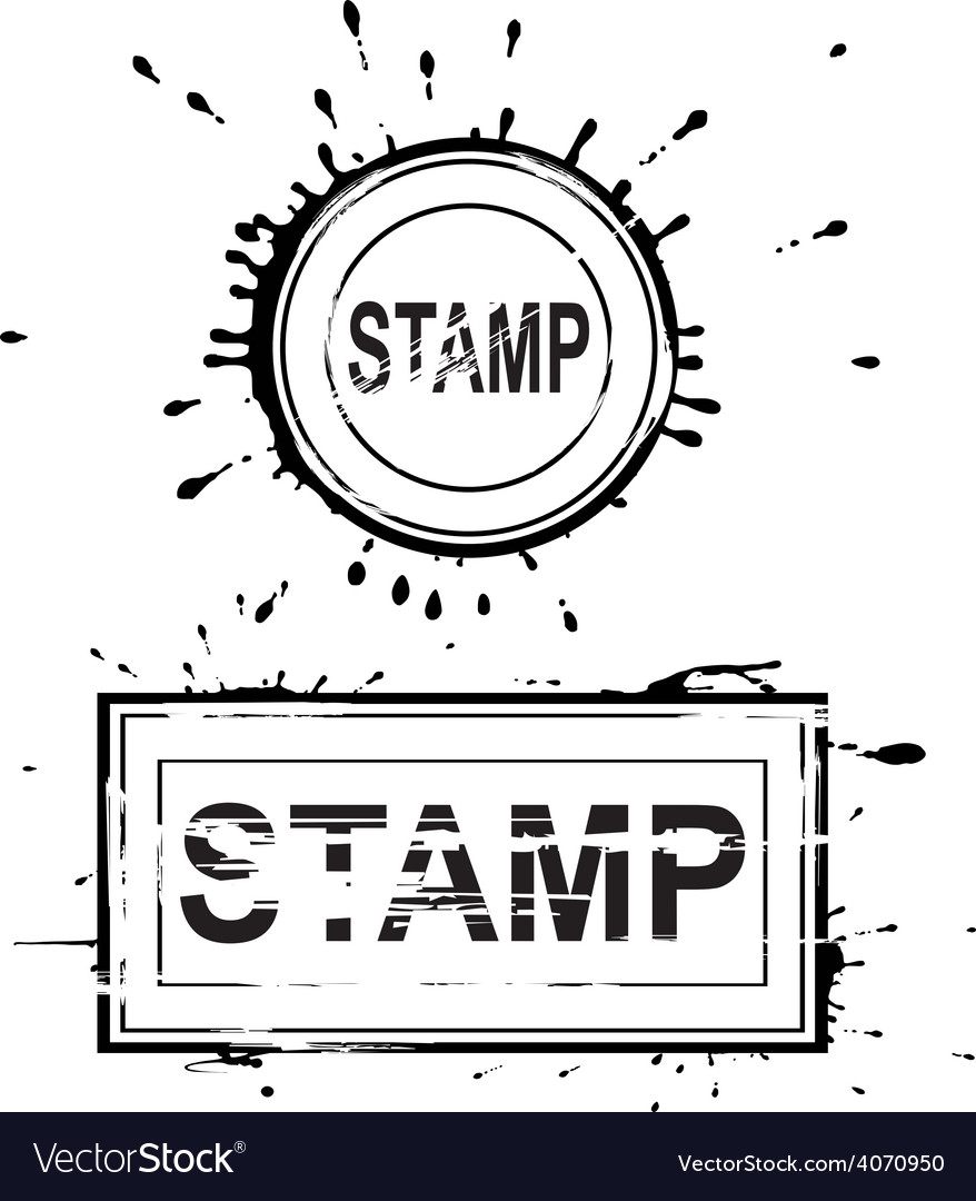 Set of grunge distressed stamps vector | Price: 1 Credit (USD $1)