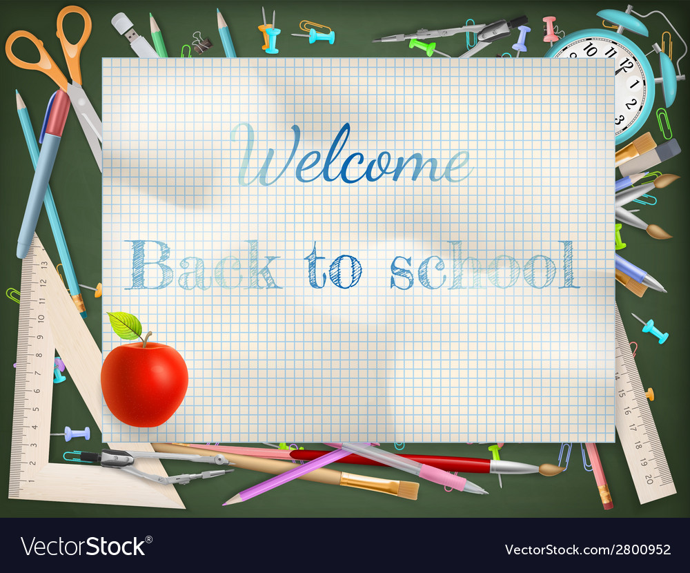 Back to school season sale eps 10 vector | Price: 1 Credit (USD $1)