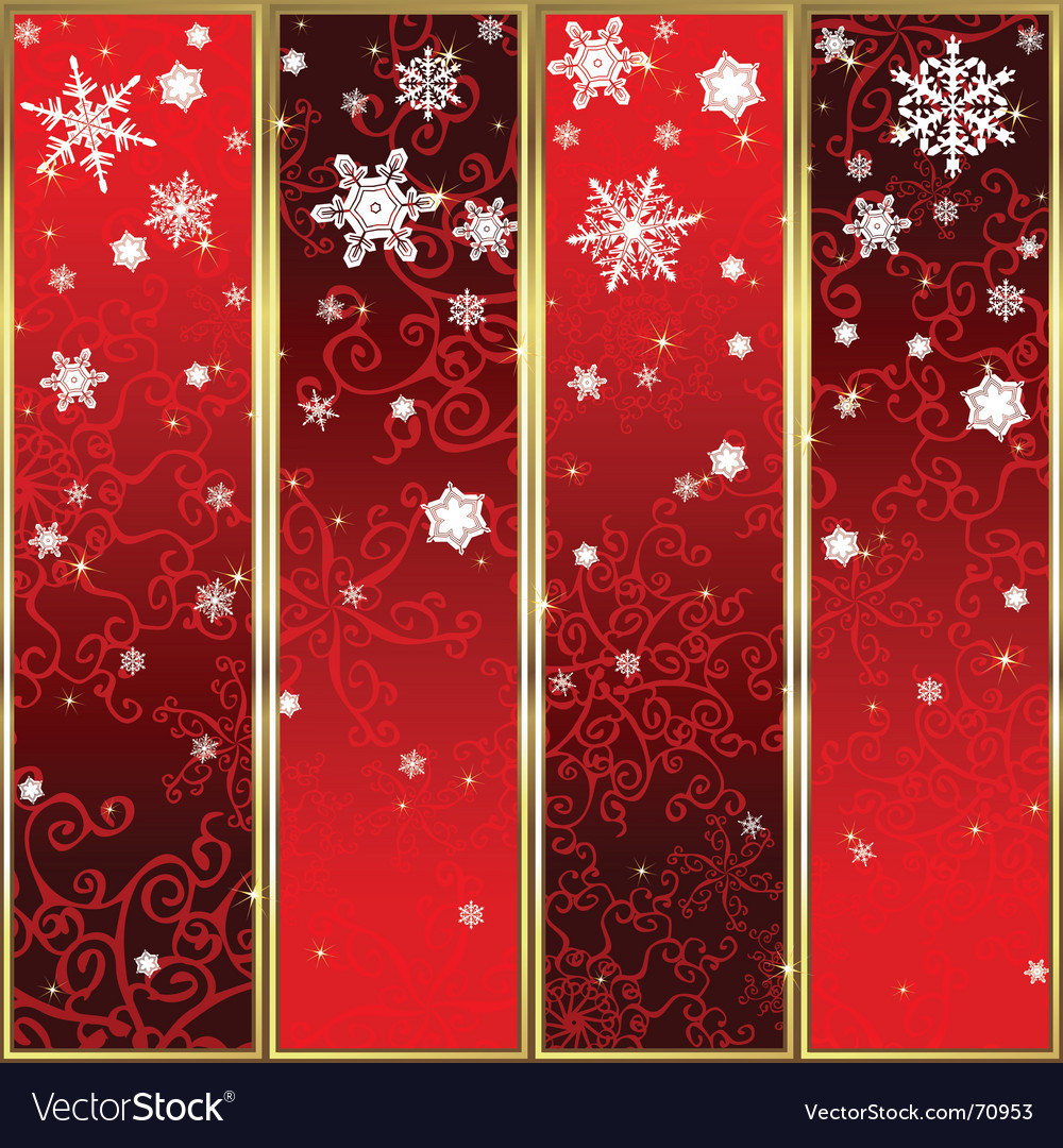 Christmas banners vector   Price: 1 Credit (USD $1)