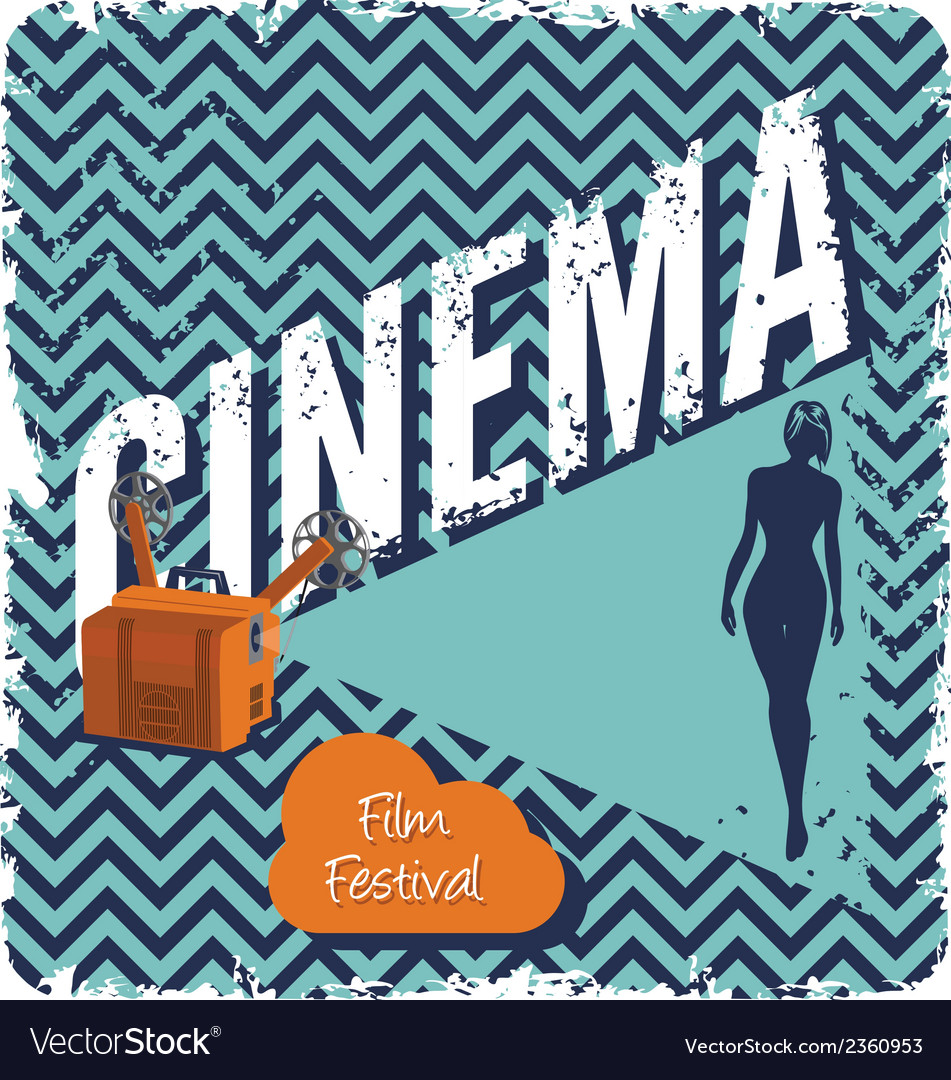 Cinema1 vector | Price: 1 Credit (USD $1)