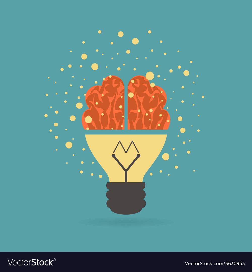 Smart idea vector | Price: 1 Credit (USD $1)