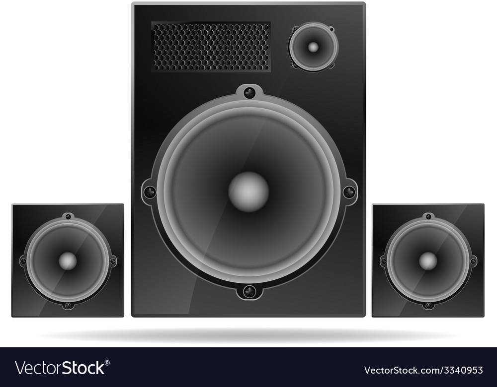 Speakers vector | Price: 1 Credit (USD $1)