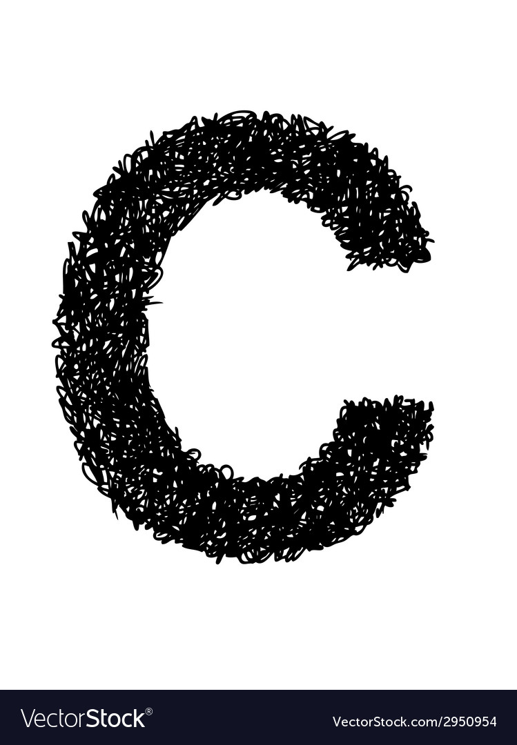 Alphabet c vector | Price: 1 Credit (USD $1)
