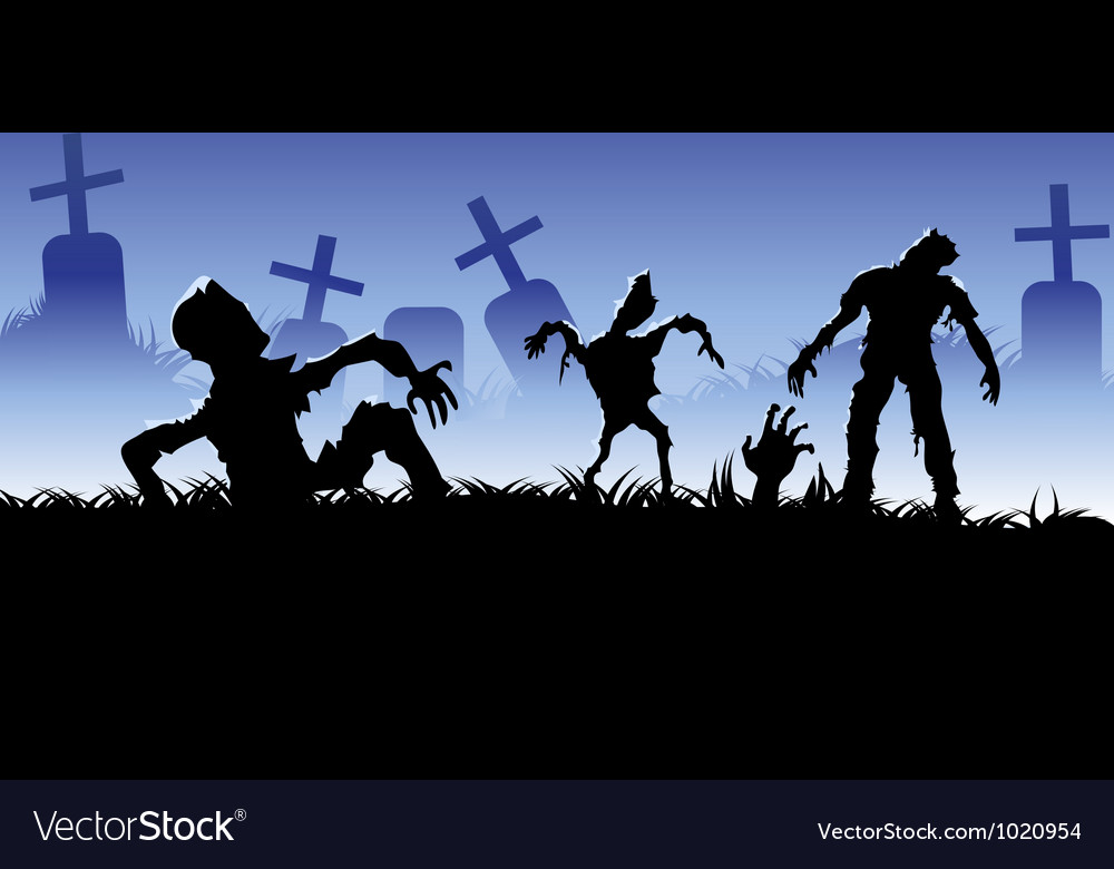 Creepy zombie vector | Price: 1 Credit (USD $1)