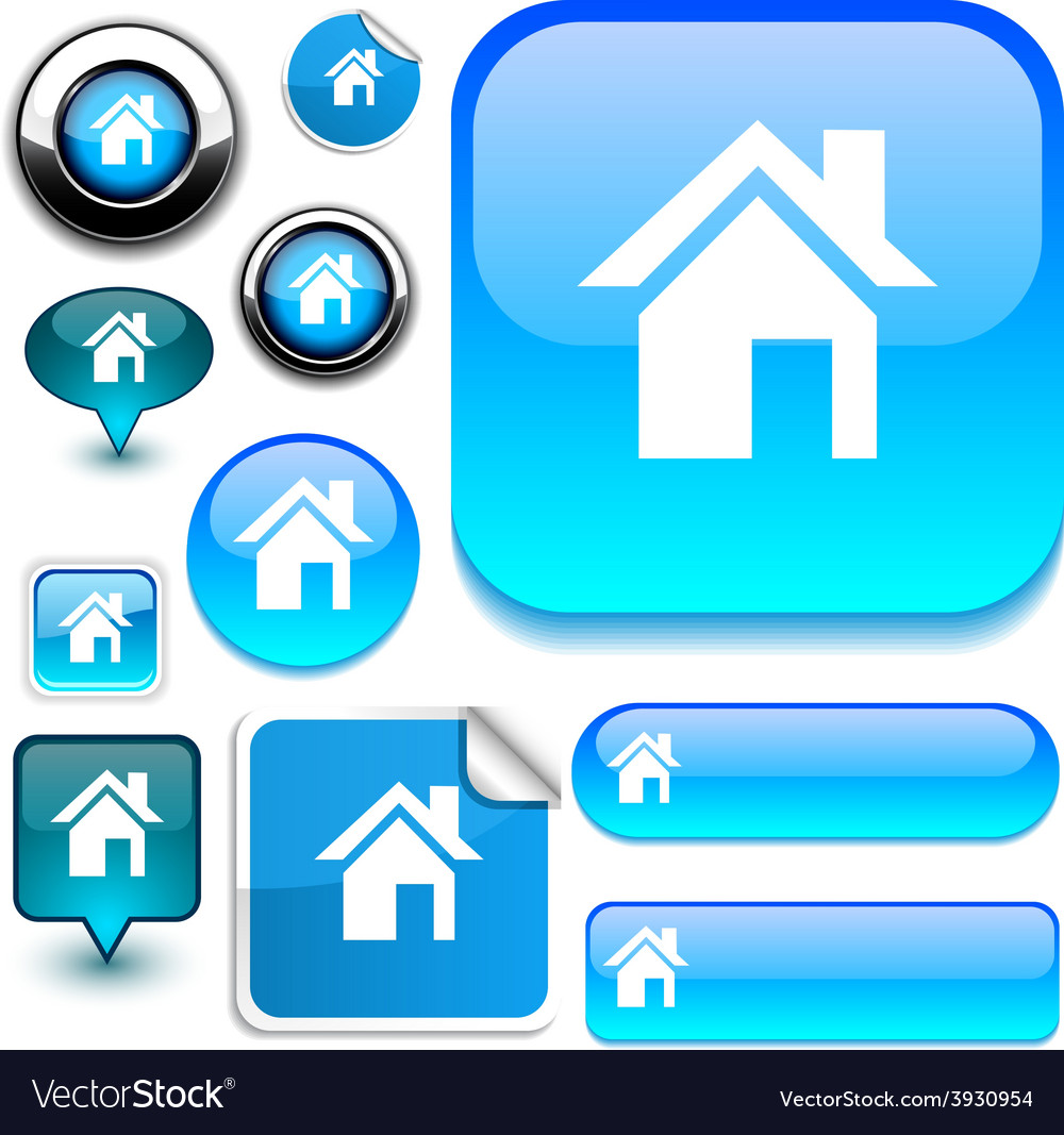 Home signs vector | Price: 1 Credit (USD $1)