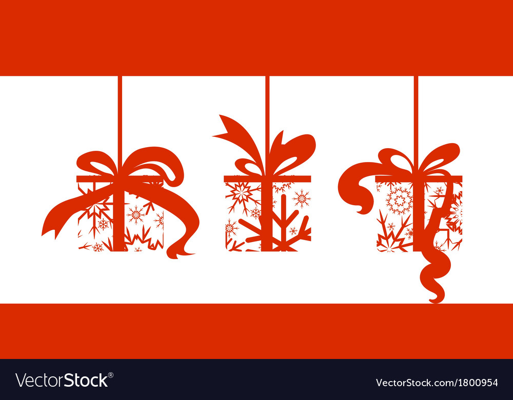 Snow gift vector   Price: 1 Credit (USD $1)