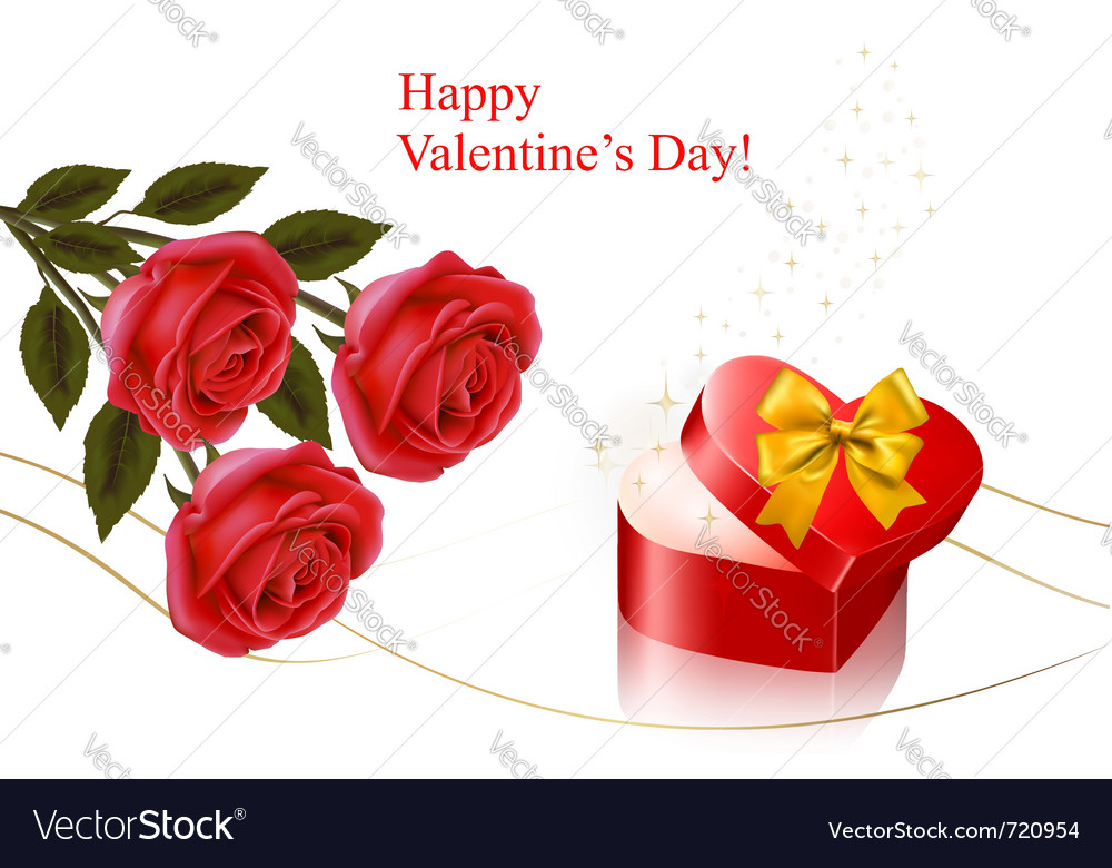 Valentine day background vector | Price: 3 Credit (USD $3)