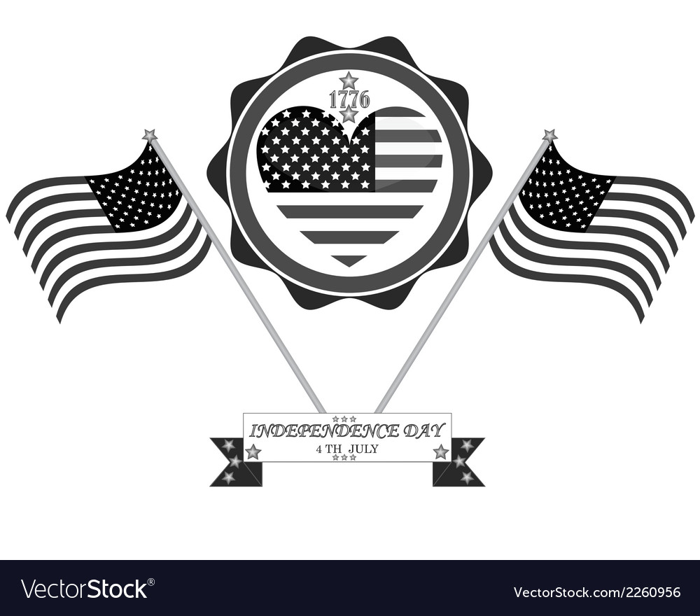 Celebration in america vector | Price: 1 Credit (USD $1)