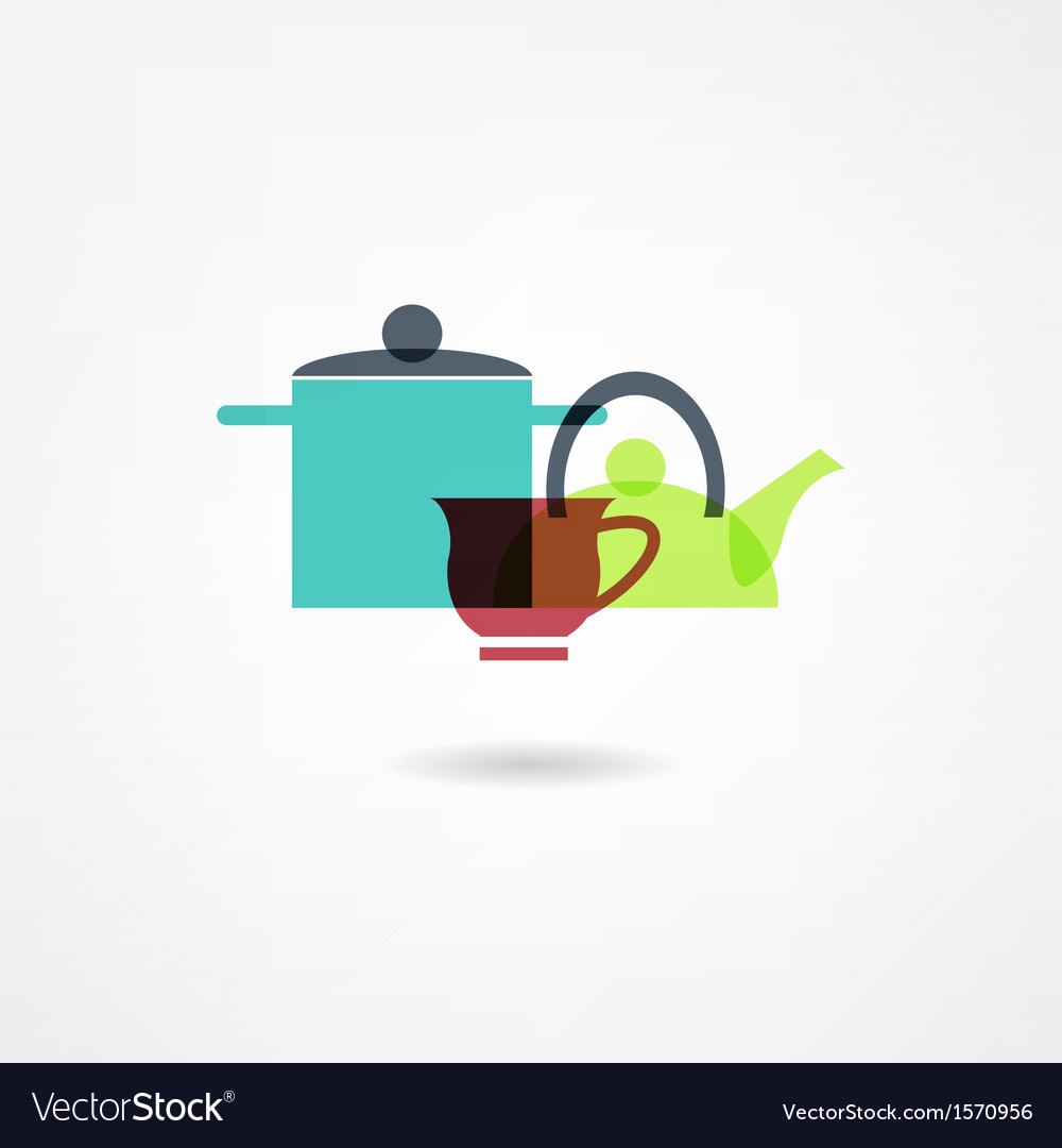 Crockery icon vector | Price: 1 Credit (USD $1)